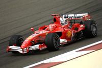 Schumacher leads Ferrari front row for Bahrain GP