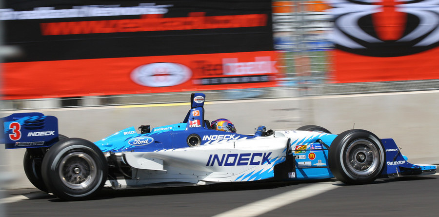 CHAMPCAR/CART: Tracy tops San Jose Friday qualifying