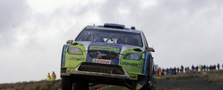 WRC Gronholm consolidates Wales rally lead