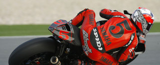 MotoGP Edwards, Rossi dominate Qatar day one tests