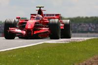 Raikkonen top in European GP second practice