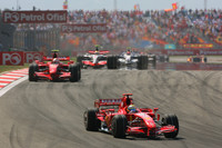 Massa leads Ferrari one-two in Turkish GP