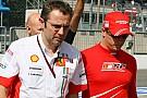 Aggressive strategy for Ferrari