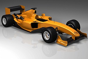 A1GP First image of 'Powered by Ferrari' car revealed