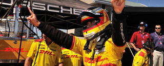 ALMS Bernhard snatches Utah pole in closing moments