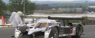 Le Mans Montagny takes over lead from Villeneuve