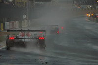 Kristensen reigns in the wet at Le Mans