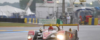 Le Mans Audi hanging on to lead in closing hours