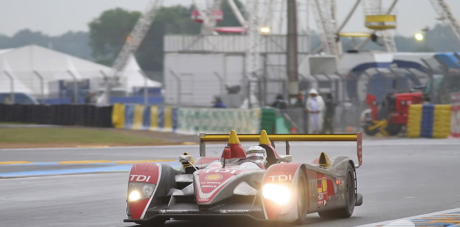Audi hanging on to lead in closing hours