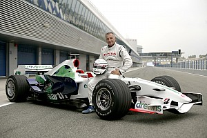 Formula 1 Riccardo Patrese Honda test summary