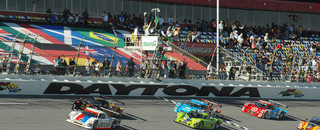 Grand-Am Brumos running one-two in Daytona 24H start