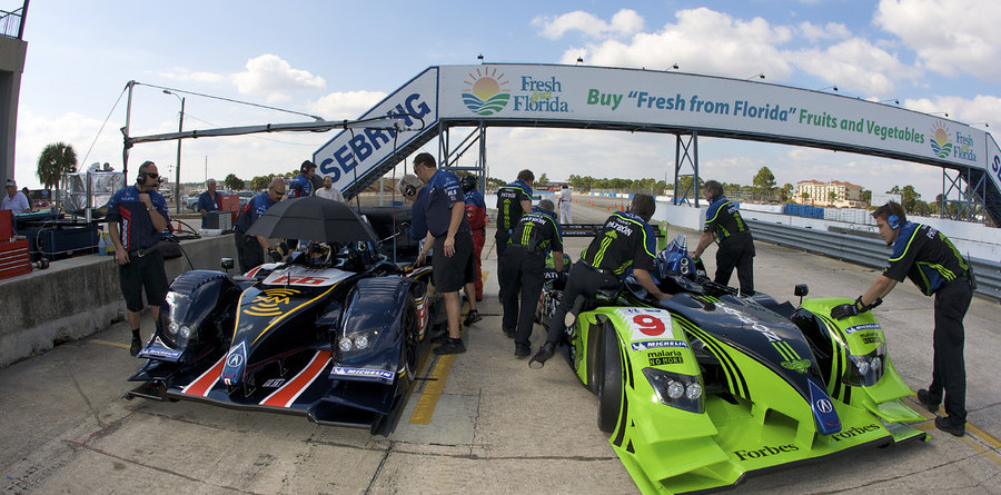 Acura quickest on opening day of testing at Sebring