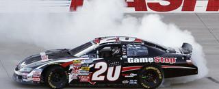 NASCAR XFINITY Logano holds off Busch for Nashville victory