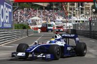 Rosberg again tops practice, in Monaco