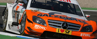 DTM Paffett opens 2010 with Hockenheimring pole