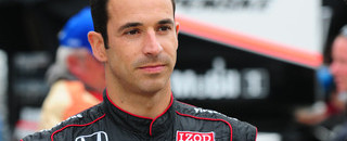 IndyCar Castroneves quickest on Sunday at the Brickyard