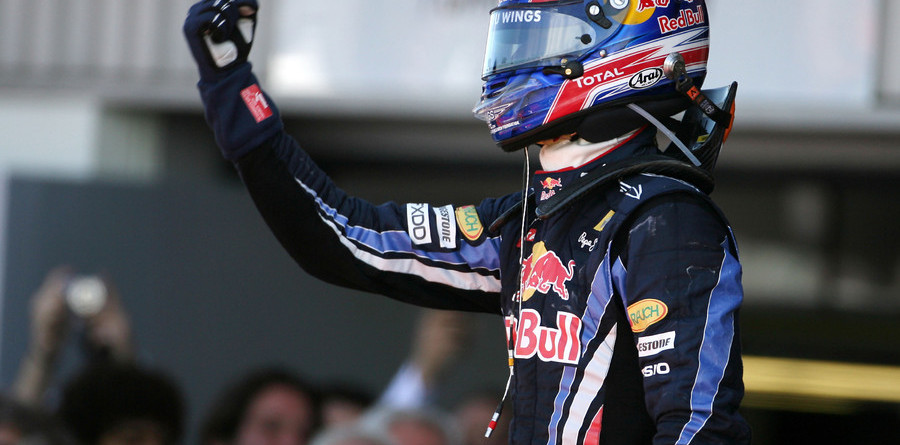 Mark Webber rules Britannia