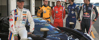 BF3 High-speed Daytona Prototype runs in UK