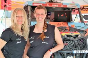 Fischer/Peterhansel: Wie deutsches Damenteam die Dakar erlebt hat