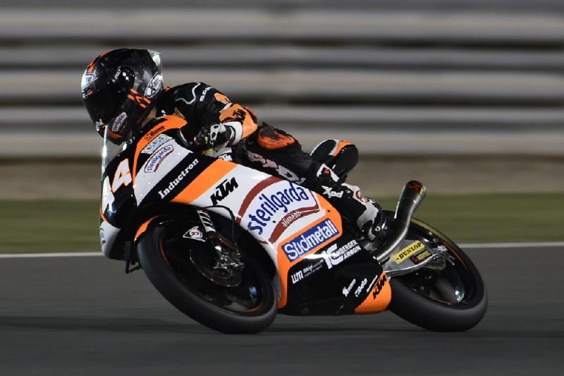 Moto3 in Katar FT2: Aron Canet mit dominanter Bestzeit bei Flutlicht