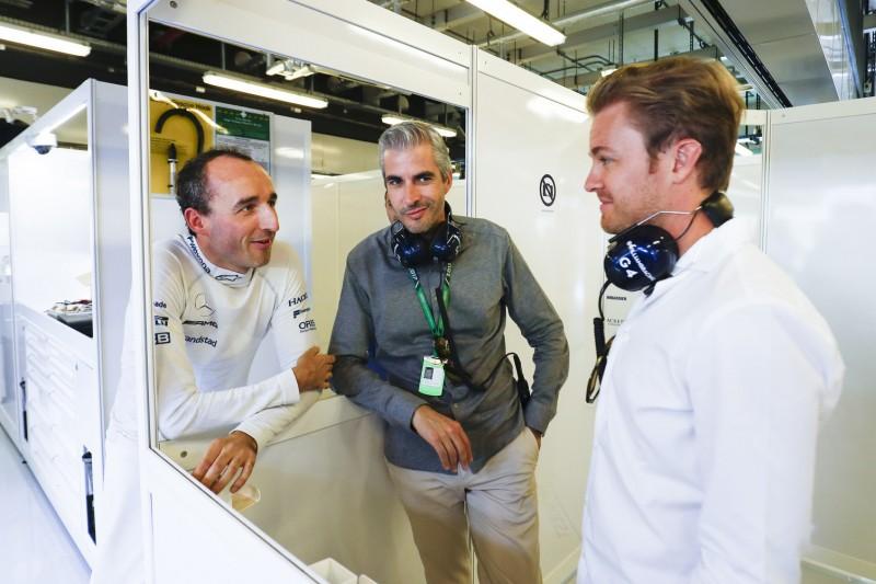 Nico Rosberg: Robert Kubica
