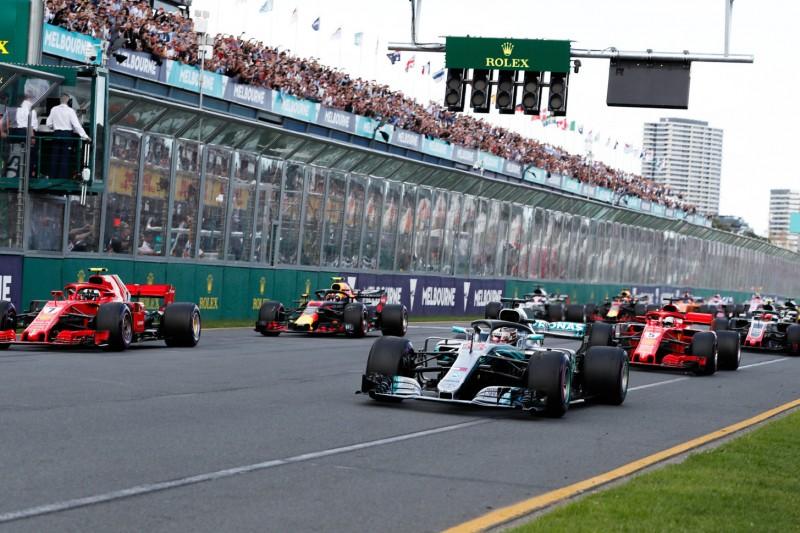 TV-Übertragung F1 Australien: Übersicht, Zeitplan & Live-Streams