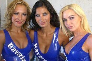 Spannende Pitbabes op Bavaria City Racing