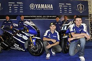 MotoGP Yamaha unveils 2011 livery