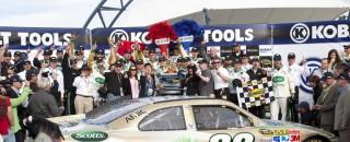 NASCAR Cup Edwards notches Las Vegas victory