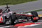 McLaren debut nose bump; Heidfeld has a cold