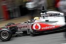 McLaren Barcelona test report 2011-03-09