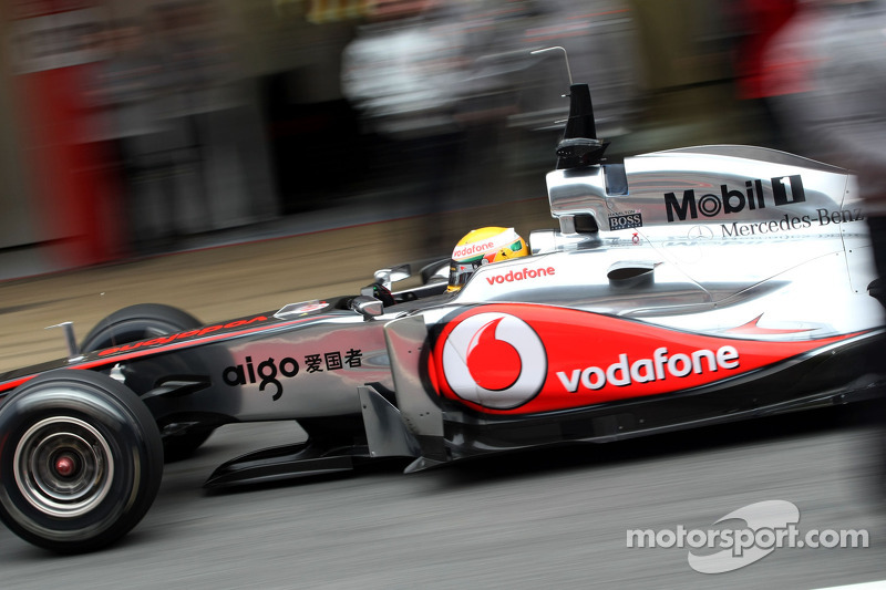 McLaren Barcelona test report 2011-03-09