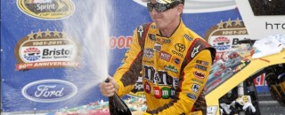 NASCAR Cup Kyle Busch takes another Sprint Cup win at Bristol
