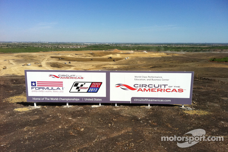 Texas F1 track named 'Circuit of the Americas'
