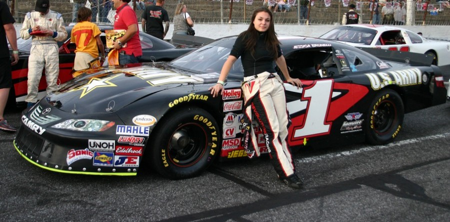 Racers Drive teams with Jessica Brunelli for her future