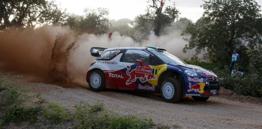 Loeb Plows Through For Early Rally d'Italia Sardegna Lead