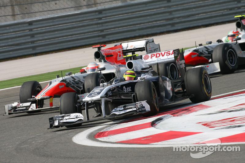 Turkish GP Williams Race Report