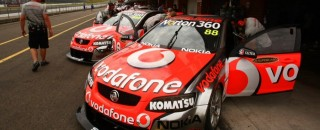 Supercars TeamVodafone Has High Hopes for Winton Event