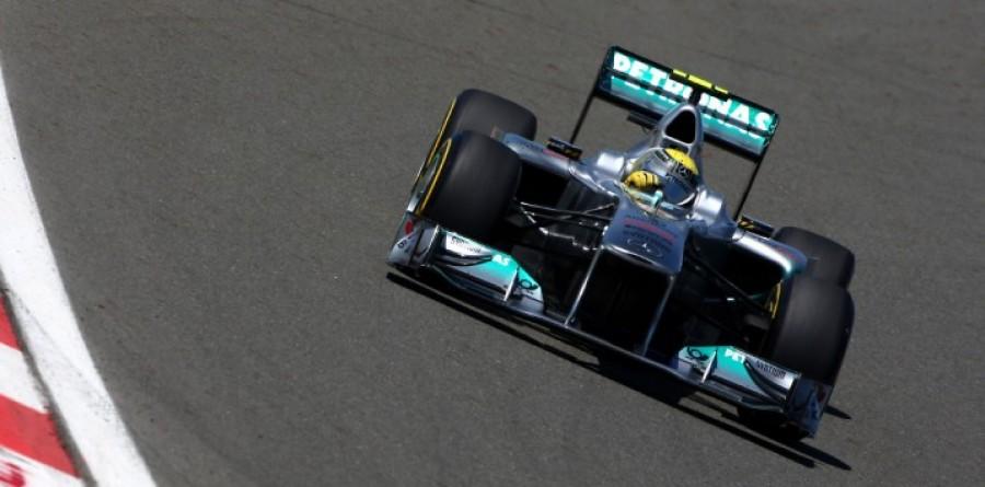 Mercedes GP Spanish GP Qualifying Report