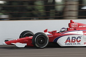 IndyCar AJ Foyt Racing Indy 500 Pole Day Report