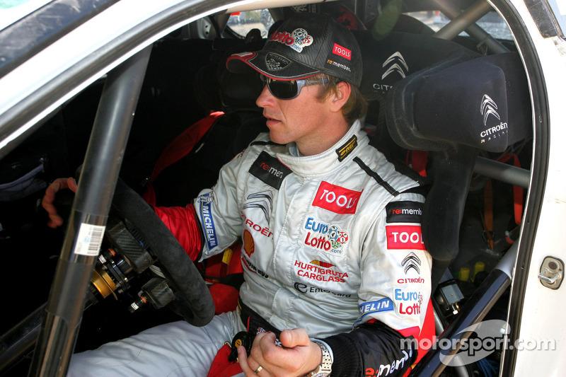 Citroen Racing Technologies Rally Argentina Preparation