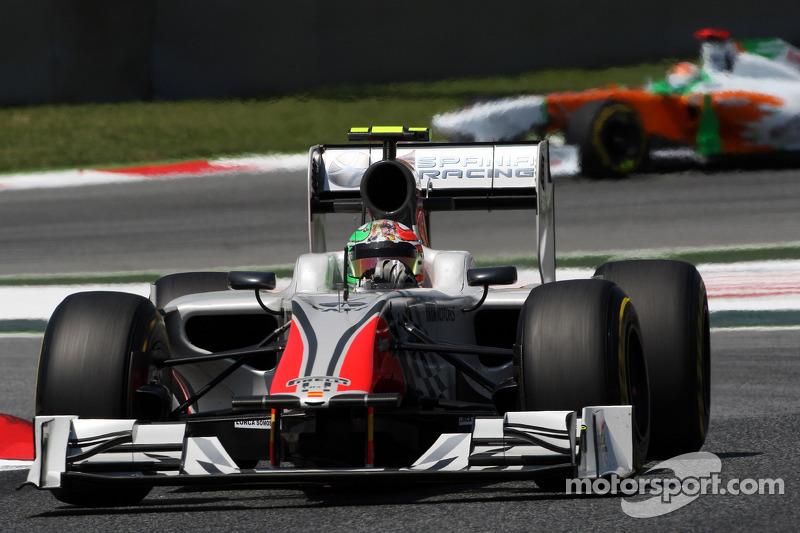 HRT Monaco GP Friday Practice Report