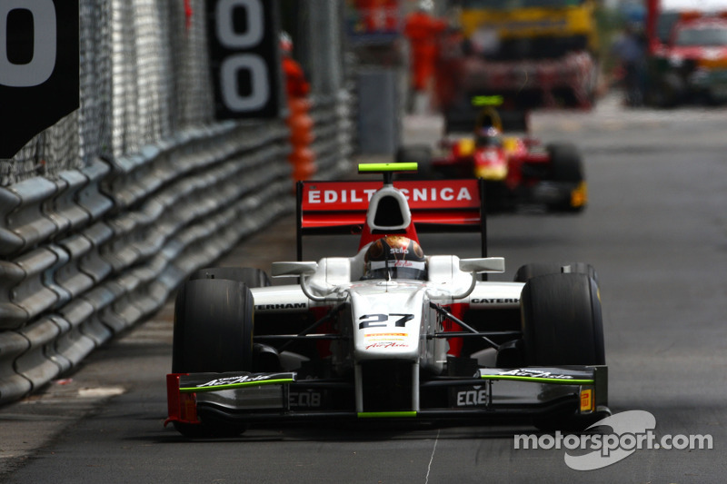 Team AirAsia Monaco Race 2 Report