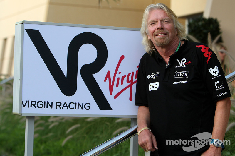 Sponsor Branson committed to struggling Virgin