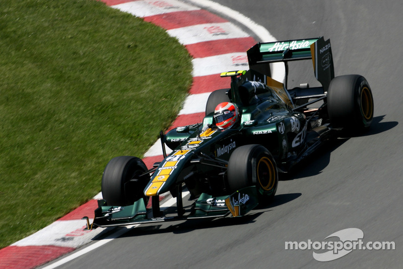Trulli beats Kovalainen for first time in 2011
