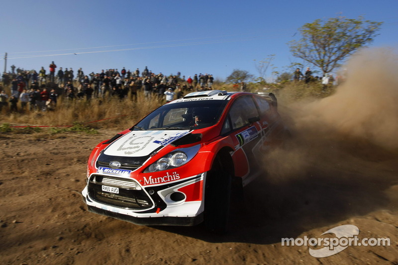 Munchi's Ford Acropolis Rally Event Summary