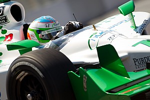 IndyCar HVM Racing Toronto Qualifying Report