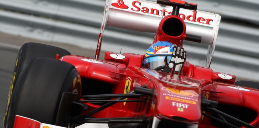 Alonso's prancing horse steals Silverstone F1 victory