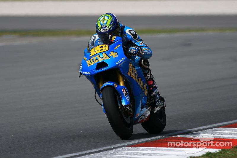 Suzuki German GP Friday Report