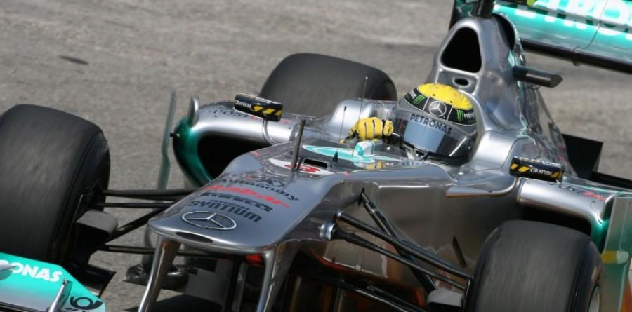 Mercedes Looking Forward To F1 German GP At Nurburgring